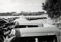 Trattorie SAME Ariete presso importatore Venezuela - Prove in campo con aratro rotante