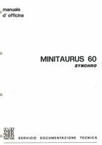 MINITAURUS 60 SYNCHRO - Manuale d'officina