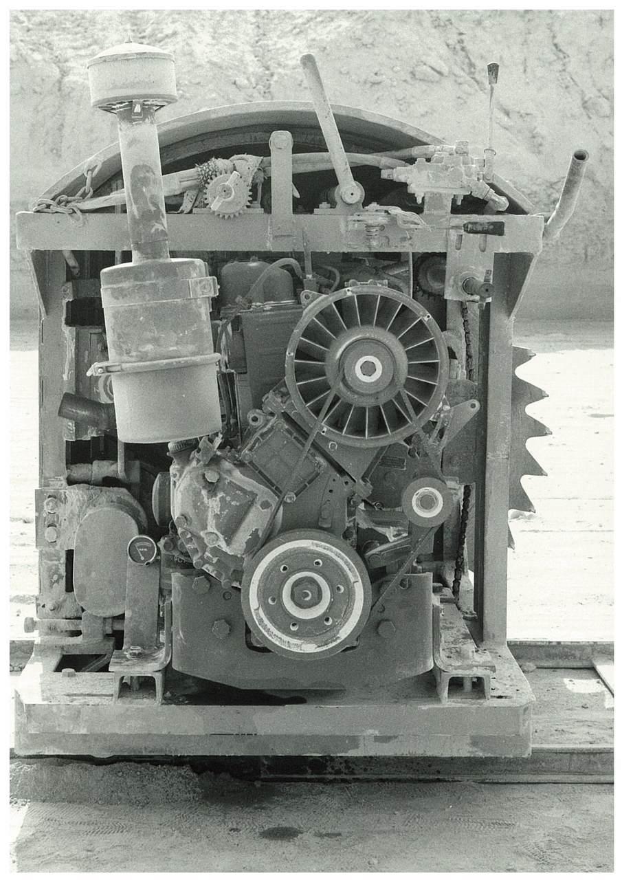 Motore ADIM in uso in cava - 3 cilindri