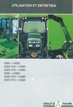 6060 ->14885 - 6060 HTS ->14885 - 6065 HTS ->14885 - 6090 ->14885 - 6090 HTS ->14885 - 6095 HTS ->14885 - Utilisation et entretien