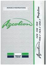 AGROTRON 120-130-150-150.7-165.7-180.7 PROFILINE - Utilisation et entretien