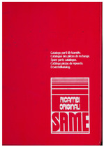 TIGER SIX 105 EXPORT - Catalogo Parti di Ricambio / Catalogue de pièces de rechange / Spare parts catalogue / Catàlogo piezas de repuesto / Ersatzteilkatalog