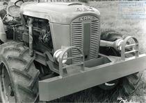 Trattore SAME 480 con applicazione industriale