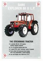 EXPLORER 80 II L.P. - The stockmans tractor