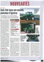 Deutz-Fahr lance une nouvelle génération d'Agrotron