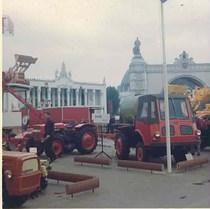Fiera di Mosca - Esposizione di trattori SAME
