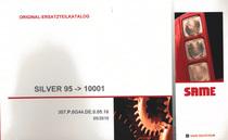 SILVER 95 ->10001 - Original-Ersatzteilkatalog