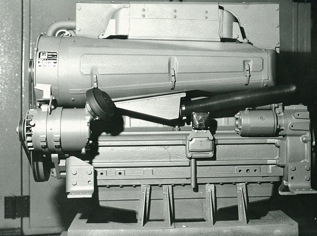 Motore SAME/ADIM per uso industriale - 6 cilindri Turbo - Particolari