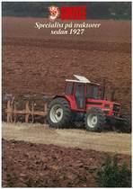 Specialist pa traktorer sedan 1927