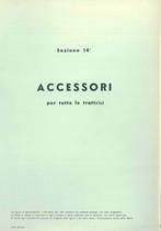 Sez. 14 - ACCESSORI per tutte le Trattrici - Catalogo Parti di Ricambio / Catalogue de pièces de rechange / Spare parts catalogue / Ersatzteilliste / Lista de repuestos