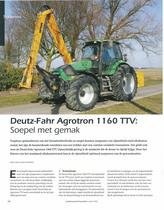 Deutz-Fahr Agrotron 1160 TTV: Soepel met gemak