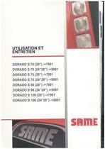 DORADO S 70-75-90-100 - Utilisation et entretien