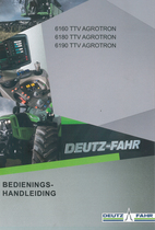 6160 TTV AGROTRON - 6180 TTV AGROTRON - 6190 TTV AGROTRON - Bedienings-handleiding