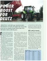 Power boost for Deutz