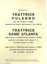 Sez. 4 - PULEDRO-ATLANTA - Catalogo Parti di Ricambio / Catalogue de pièces de rechange / Spare parts catalogue / Ersatzteilliste