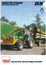 DEUTZ-FAHR DX Forsttraktoren