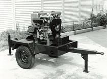 Motore SAME/ADIM serie P per uso industriale - 2 cilindri su carrello