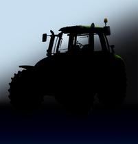 [Deutz-Fahr] trattori serie Agrotron, in studio e al lavoro con rotopressa