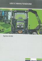 AGROTRON M 650 - Uso e manutenzione