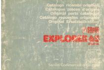 EXPLORER 65 SPECIAL - Catalogo Parti di Ricambio / Catalogue de pièces de rechange / Spare parts catalogue / Ersatzteilliste / Lista de repuestos / Catálogo peças originais