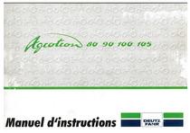 AGROTRON 80-90-100-105 - Utilisation et Entretien