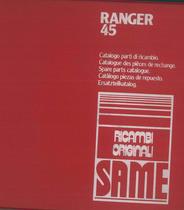 RANGER 45-45 FRUTTETO - Catalogo Parti di Ricambio / Catalogue de pièces de rechange / Spare parts catalogue / Ersatzteilliste / Lista de repuestos / Catálogo peças originais
