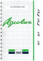 AGROLUX 57-67-F 57-67 - Betriebsanleitung
