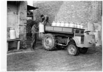 Samecar Agricolo per il trasporto dei bidoni del latte