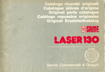 LASER 130 - Catalogo ricambi originali / Catalogue pièces d'origine / Original parts catalogue / Catalogo repuestos originales / Original Ersatzteilkatalog
