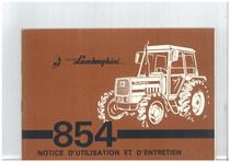 854 - Utilisation et Entretien