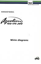 AGROTRON 160 - AGROTRON 175 - AGROTRON 200 - WIRIM DIAGRAMS - Workshop manual