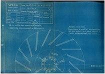 """Motore B 8/110 - Gruppo IV: Soffiante. Commessa 1720"""