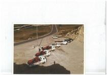 Gruppo di trattori SAME Centauro trasportati per la Fiera di La Coruna