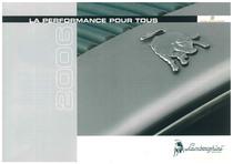Produit de fureur - La performance pour tous 2006 // Catalgo di Gamma - La performance per tutti 2006