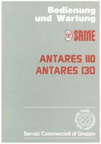 ANTARES 110 - 130 - Bedienung und wartung