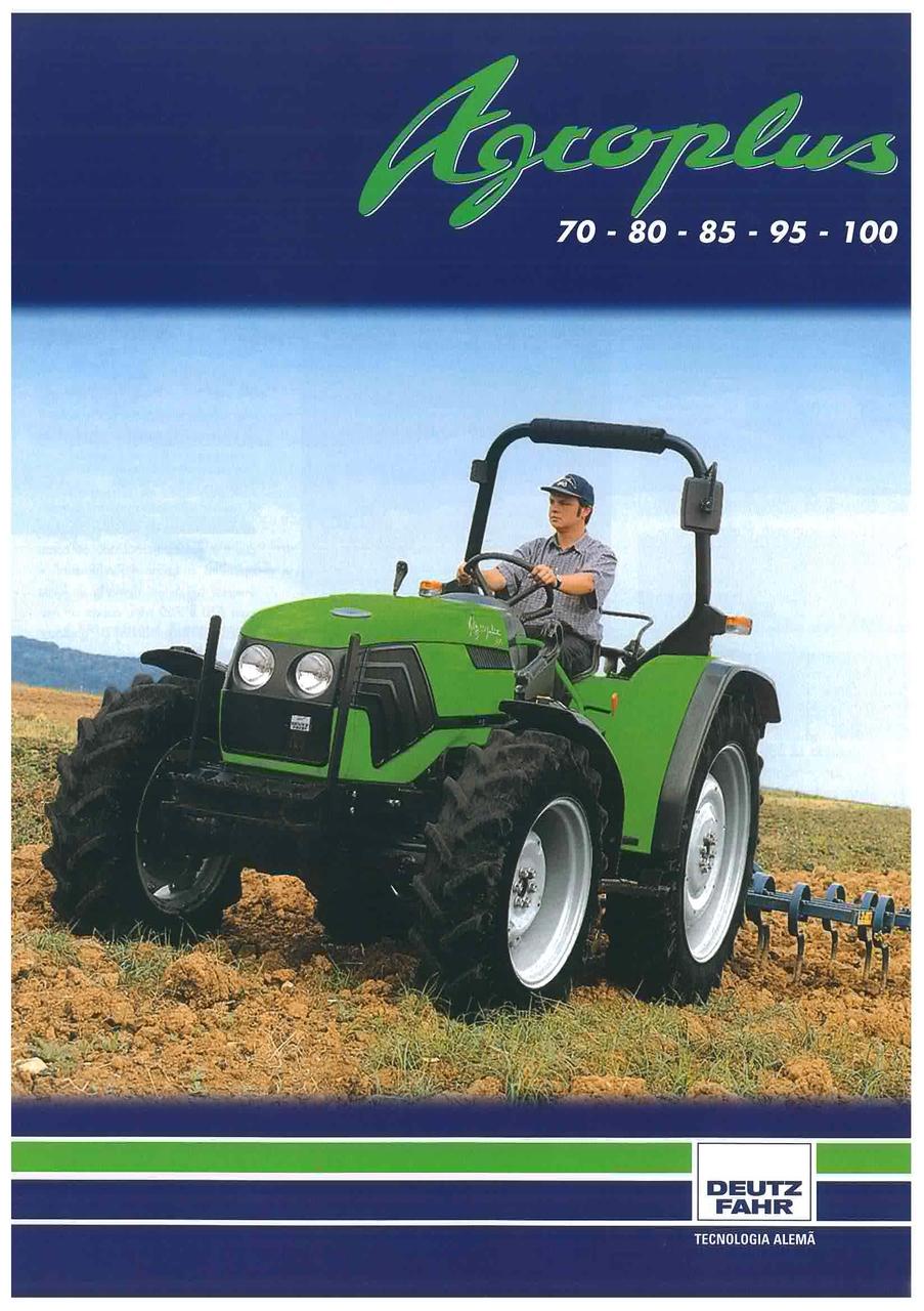 AGROPLUS 70 - 80 - 85 - 95 - 100
