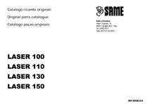 LASER 100-110-130-150 - Catalogo Parti di Ricambio / Spare parts catalogue / Catálogo peças originais