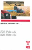 DORADO³ 60 CLASSIC ->10001 - DORADO³ 70 CLASSIC ->10001 - DORADO³ 80 CLASSIC ->10001 - DORADO³ 90 CLASSIC ->10001 - Instrukcja operatora