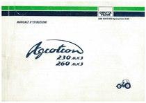 AGROTRON MK3 230-260 - Libretto Uso & Manutenzione