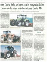 SAME Deutz-Fahr se hace con la mayoria de las facciones de la empresa de motores Deutz AG