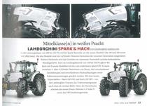 Mittelklasse (n) in weißer Pracht: Lamborghini Spark & Mach