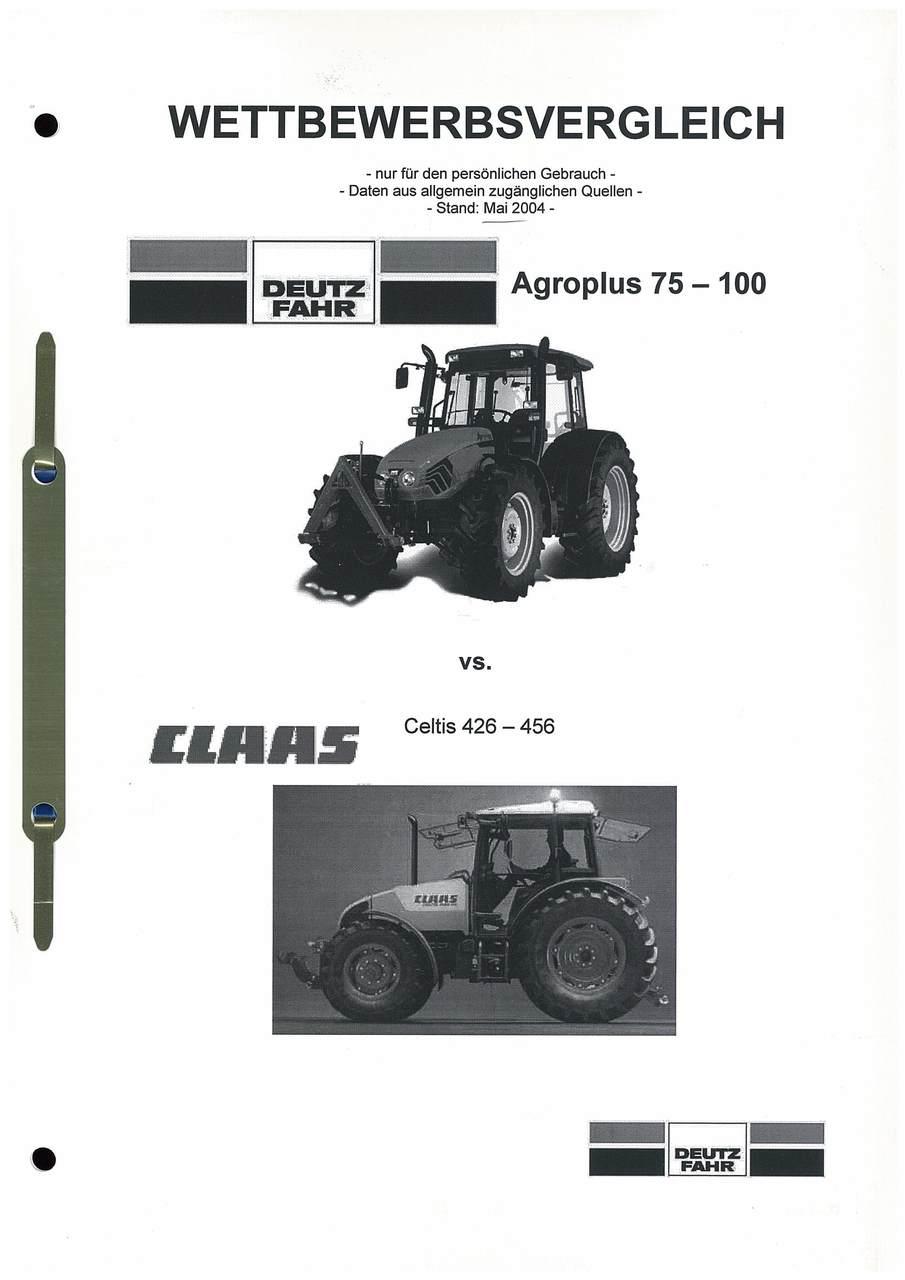 Agroplus 75-100 vs ...