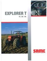 EXPLORER T 75 - 85 - 95