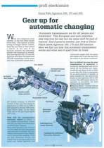 Gear up for automatic changing