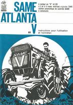 ATLANTA en V - Instructions pour l'utilisation et l'entretien