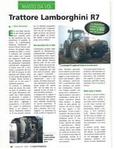 Trattore Lmaborghini R7