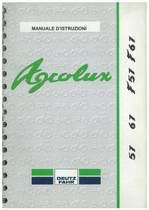 AGROLUX 57-67-F57-F67 - Uso e manutenzione