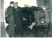 Ing. Francesco Cassani durante la visita alla Same del Sottosegretario Argentino