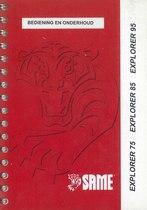 EXPLORER 75 - 85 - 95 - Bediening en onderhoud