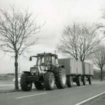 [Deutz-Fahr] trattore Agrostar 6.61 con doppio rimorchio